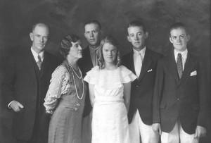 Carrow Wright Bernard Mary Elizabeth John Joseph and Jesse Edward