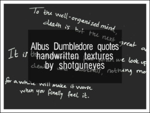 ... quotes brand new lyrics textures 1 handwritten albus dumbledore quotes