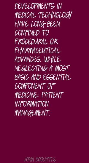 Medical Technology quote #1