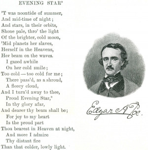 Writing Edgar Allen Poe's Poem