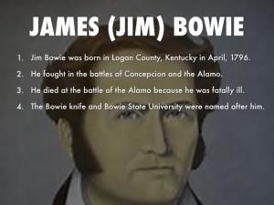JAMES (jim) bowie