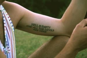 Women Bicep Tattoos