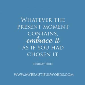 Embrace Life Fully...