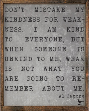 Al Capone Quote Vintage Framed Art Print