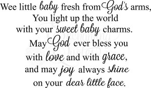 New Baby Blessing Quotes