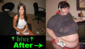 timely health warning to all the lady gamers out there