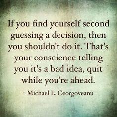 Decision Making #quote #wisdom