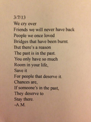 Quotes From If I Stay ~ if someone is in the past they deserve to stay ...