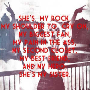 sisters quotes she my rocks love my sisters quotes sisters quotes ...