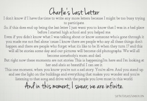 perks of being a wallflower pictures and quotes tumblr
