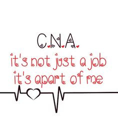 Something I made. I've been a C.N.A. for seven years. I love it! More