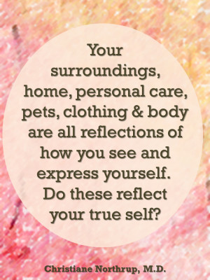 Totally feng shui!!!! Do they reflect your true self????
