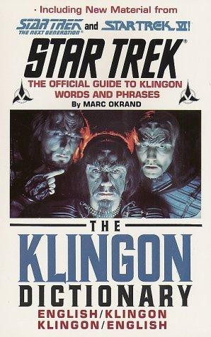 The Klingon Dictionary – Star Trek is hosted at free file sharing ...