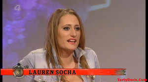 Lauren Socha With Her...