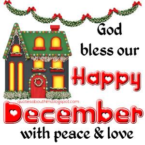 Happy Decemberpost card
