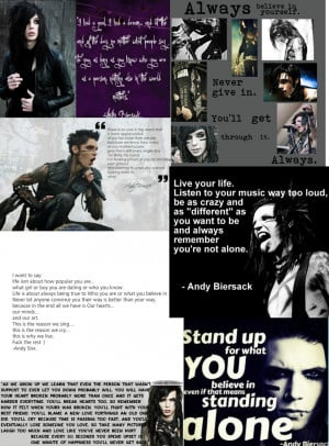 Andy Biersack quotes