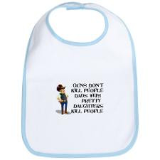 Bib with our cowboy for