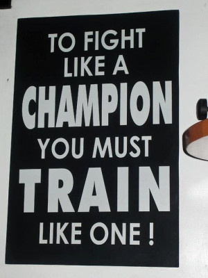 fight # champion # train # training # train hard # athlete swag ...