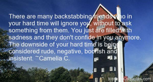 Top Quotes About Backstabbing Friends