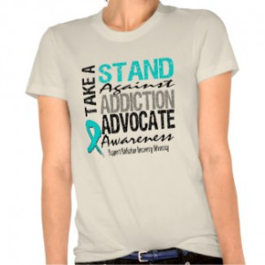 Addiction Recovery Take A Stand Against Addiction by GiftsForAwareness ...