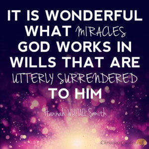 Ways Miracles Come When We Surrender