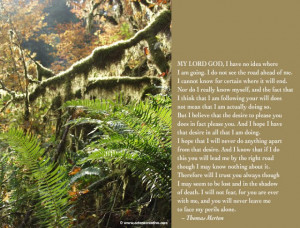 Thomas Merton Prayer and Quotes