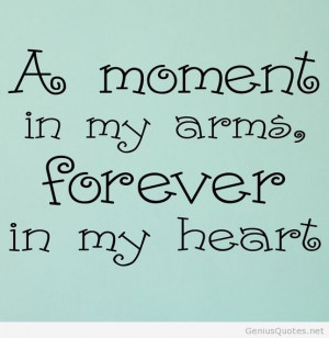 Forever in my heart quote