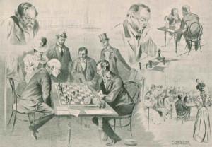 right wilhelm steinitz mikhail chigorin and the game between steinitz