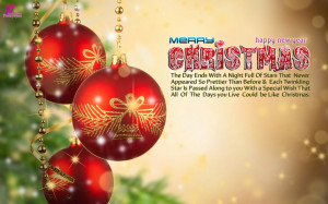 Merry Christmas Wishes Quote Card Happy New Year Greetings