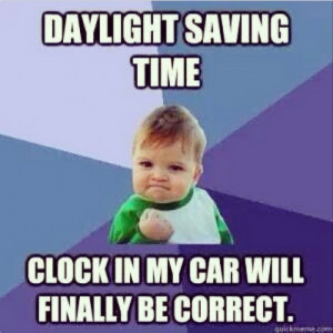 Photos / Daylight Saving Time jokes on Instagram