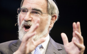 Jonathan Sacks discussing at the Hay Festival the many conflicts ...