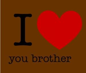 love you brother créé par imi-young