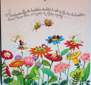 Lesson from a Bumblebee