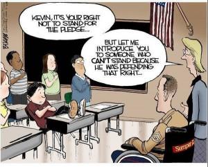 Very Powerful Cartoon- Powerfully Stupid, That Is