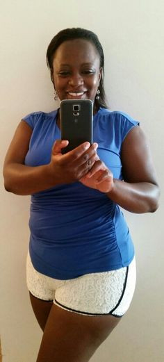 love my body!!! I have thick thighs, a big booty, DD size, a tummy ...