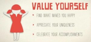 Value yourself...