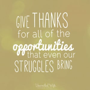 Give thanks in all circumstances for this is God's will for you in ...