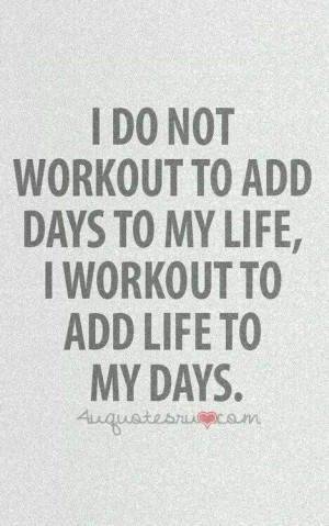 Fitness & weight loss motivation