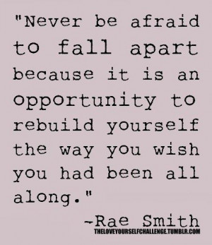 Don't be afraid to REINVENT yourself! Phoenix rises from the ashes ...