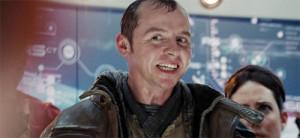 Beam me up Simon Pegg!
