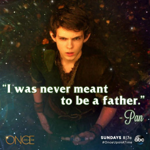 Peter Pan... And we wonder why Rumple and Neil started as bad fathers ...