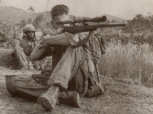 ... Carlos Hathcock was a US Marine Corps sniper in the Vietnam War
