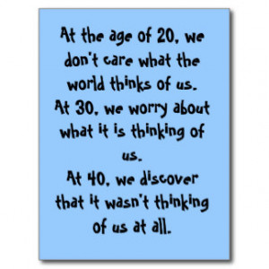 Funny Quotations About Turning 40