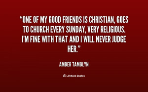 Good Christian Friend Quotes Preview quote