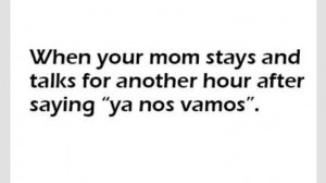 Lol...Hispanic problem...