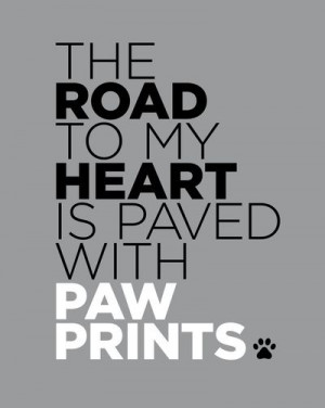 ... My Heart Pawprint, Dogs Cat, Art Prints, Wall Quotes, Paw Prints, Fur