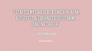 Carrie Ann Inaba Quotes