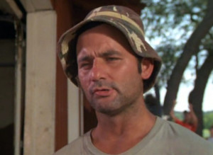 Famous Quotes by Bill Murray, Playing Carl Spackler in Caddyshack ...