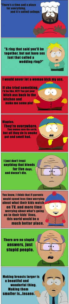 Extremely Funny South Park Quotes Pic #24
