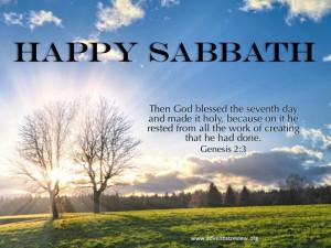 Happy sabbath :))))